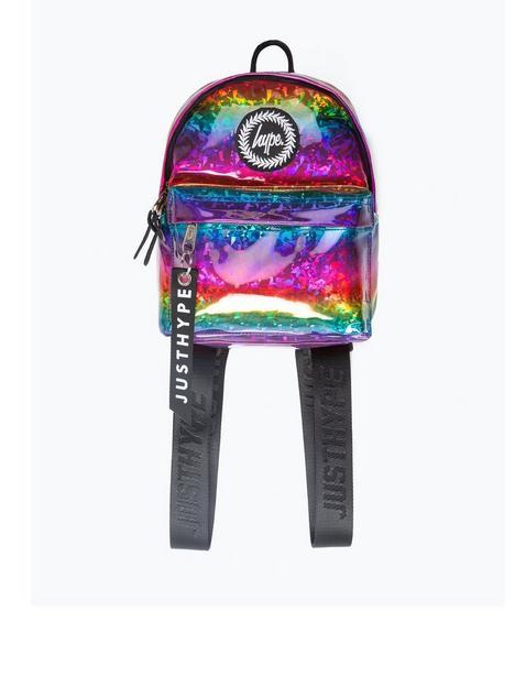 hype-girls-rainbow-glitter-mini-backpack-multi