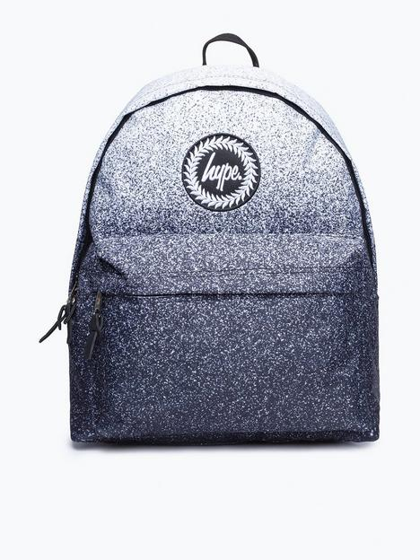 hype-boys-mono-speckle-fade-backpack-black