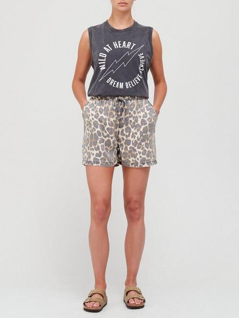 sofie-schnoor-animal-print-shorts-multi
