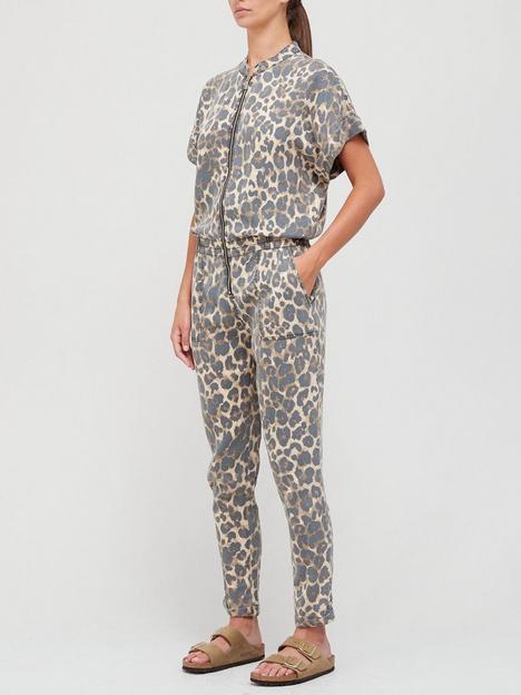 sofie-schnoor-animal-print-jumpsuit-multi
