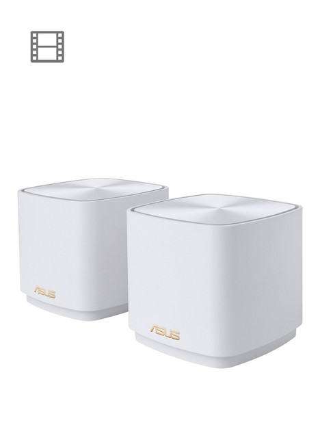 asus-zenwifi-xd4-2-pack-ax1800-whole-home-dual-band-mesh-wifi-6-system-coverage-up-to-557-sq-meter6000-sq-ft
