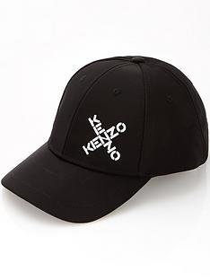 kenzo-mens-logo-baseball-cap-black