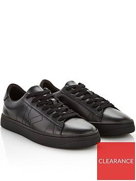 kenzo-mensnbspkourt-lace-up-sneakers-black