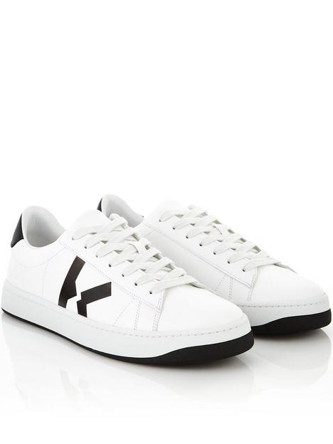 kenzo-mens-kourt-lace-up-sneakers-white