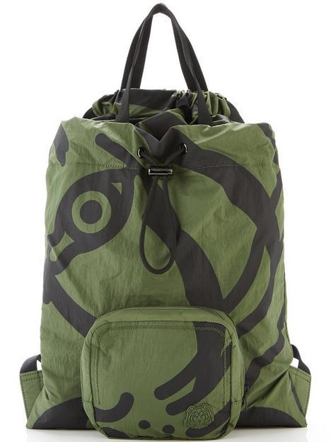 kenzo-mens-packable-backpack-khaki