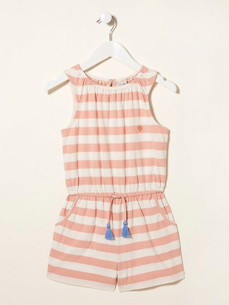 fatface-girls-ayla-jersey-stripe-playsuit-rose-pink