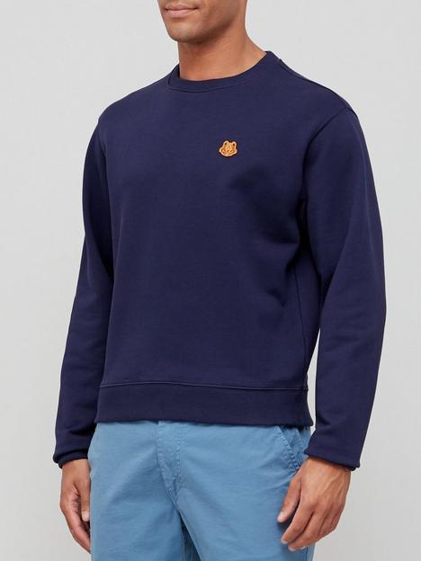 kenzo-tiger-crest-classic-sweatshirt-navy