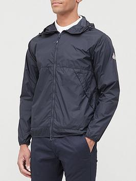 Pyrenex Springs Hooded Windbreaker Jacket - Black