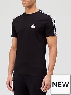 pyrenex-randy-tape-detail-t-shirt-blacknbsp