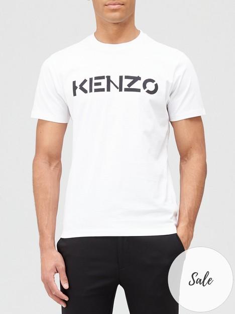 kenzo-classicnbsplogo-t-shirt-white