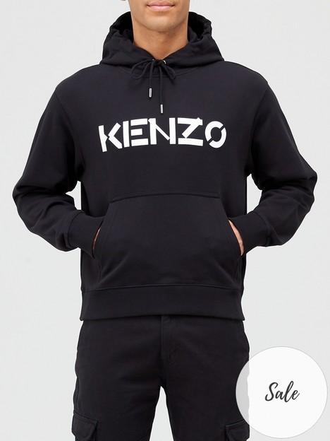 kenzo-classic-logonbspoverhead-hoodie-black