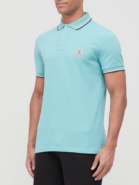 pyrenex-leyre-tipped-collar-polo-shirt-blue