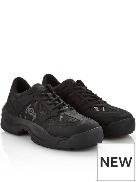 kenzo-mensnbspwork-chunky-trainers-black