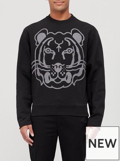 kenzo-k-tiger-classic-sweatshirt-black