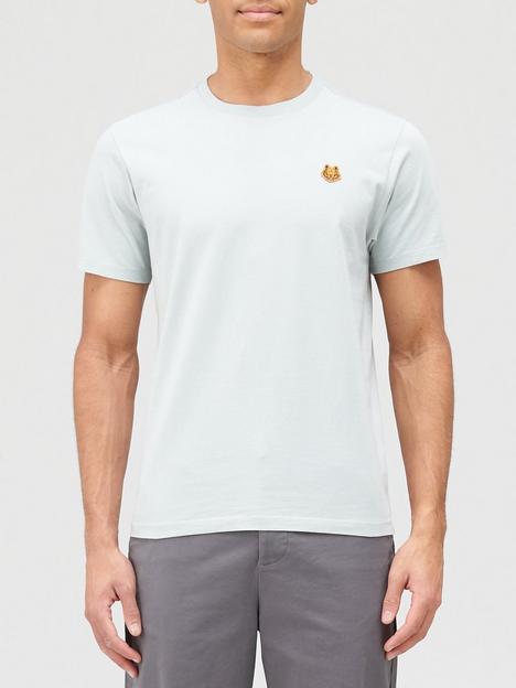 kenzo-tiger-crest-classic-t-shirt--nbspsage-green