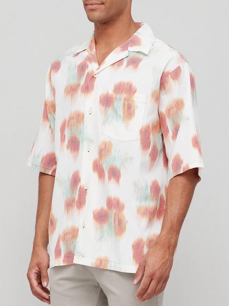 kenzo-printed-short-sleeve-shirt-white