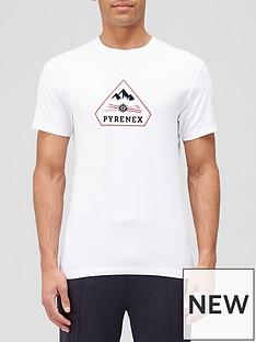 pyrenex-karel-large-logo-t-shirt-whitenbsp