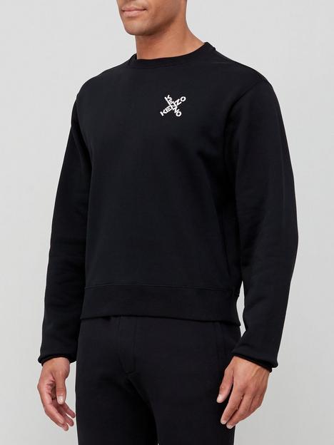 kenzo-sport-classic-sweatshirt-black