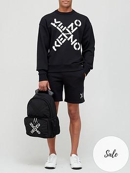 kenzo-sport-classic-jersey-shorts-black