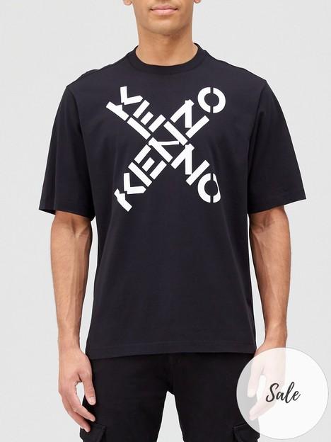 kenzo-oversized-sport-logo-t-shirt-black