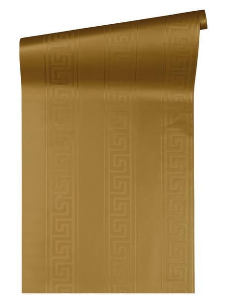 versace-greek-key-stripe-gold-wallpaper