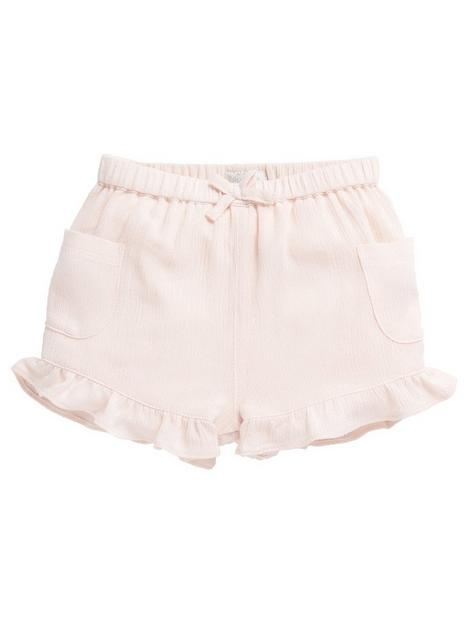 mamas-papas-baby-girls-crinkle-jersey-shorts-pink