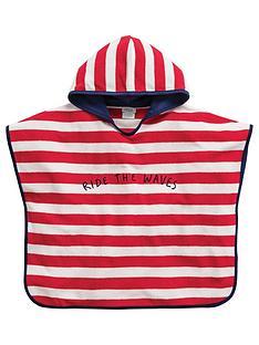 mamas-papas-baby-boys-stripe-towel-poncho-multi