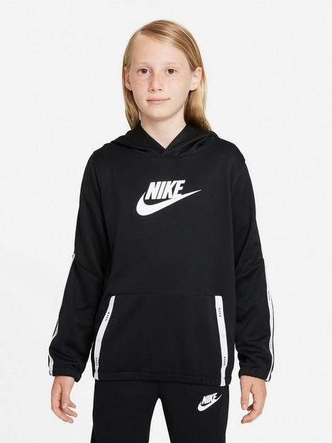 nike-nswnbspunisex-pullover-hoodie-tracksuit-setnbsp--blackwhitenbsp