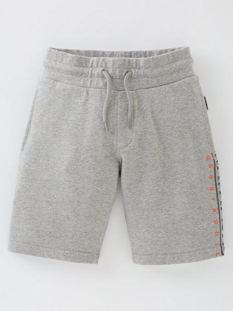 napapijri-boys-nadyr-jogger-shorts-grey-marl