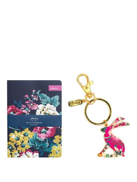 joules-set-of-2-a5-notebooks-with-enamel-keyring