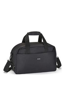 Rock Luggage Platinum Black Underseat Holdall