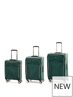 rock-luggage-hadley-8-wheel-suitcases-3-piece-set-green