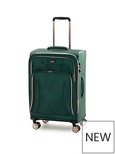 rock-luggage-hadley-medium-8-wheel-suitcase-green