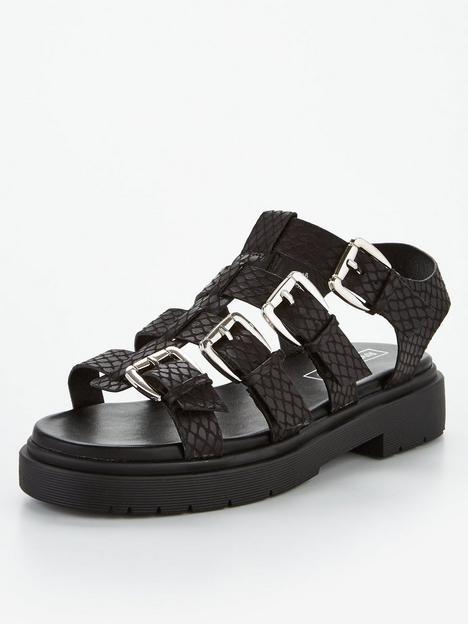 river-island-gladiator-cleated-sandal-black