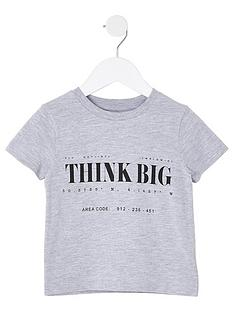 river-island-mini-mini-boys-think-big-tshirt-grey