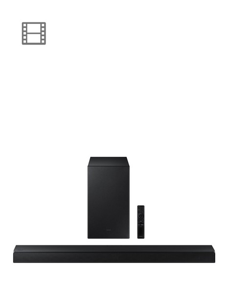 samsung-hw-a550anbsp21ch-410w-soundbar-with-wireless-subwoofer-dts-virtualx-hdmi-bluetooth-adaptive-sound-lite-game-amp-bass-boost-mode