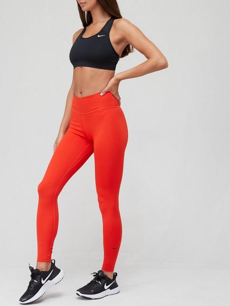 nike-the-one-mid-rise-leggings-red