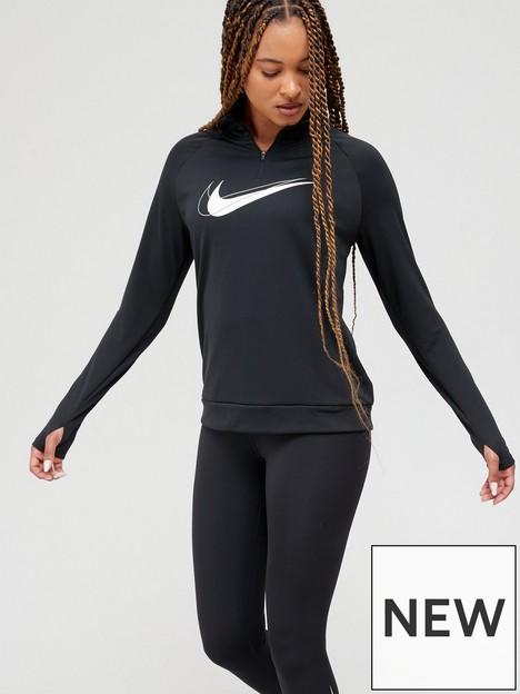 nike-running-dri-fitnbspswoosh-half-zip-long-sleeve-top-black