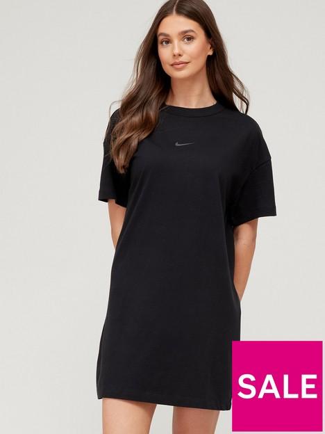 nike-nswnbspshort-sleeve-t-shirtnbspdress-black
