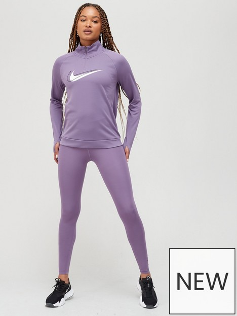 nike-running-dri-fitnbspswoosh-half-zip-long-sleevenbsptop-purple