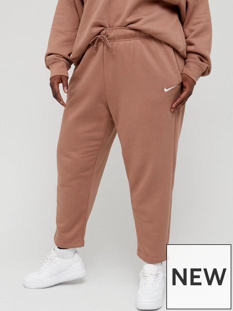 nike-nsw-essential-trend-fleece-pant-curve-brownnbsp