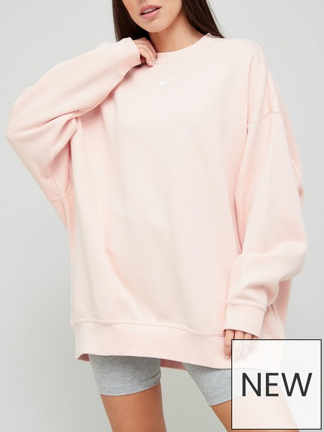 nike-nsw-essential-trend-sweat-top-coral