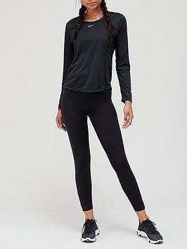 nike-the-one-dri-fit-long-sleeve-top-black