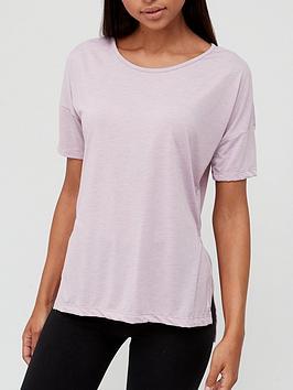 nike-yoga-layer-short-sleevenbspt-shirt-purplenbsp