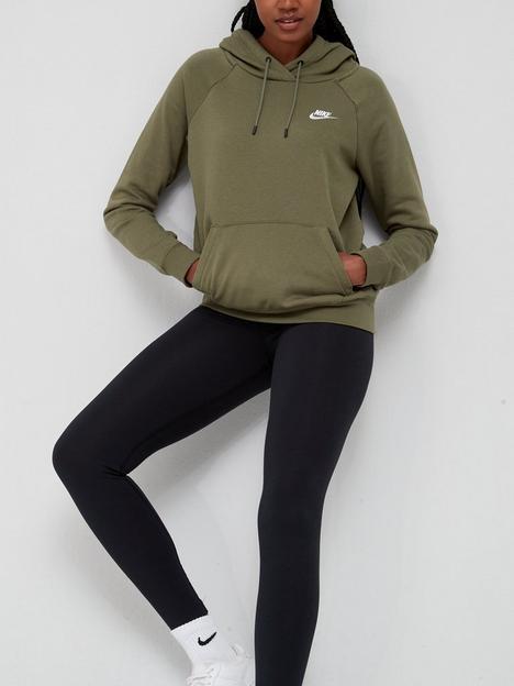 nike-nswnbspessential-fleece-pullover-hoodie-olive
