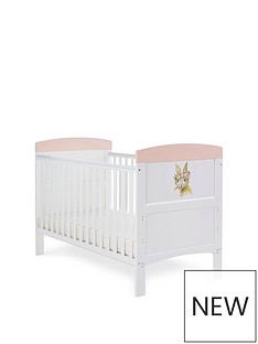 obaby-grace-inspire-cot-bed-rabbit-pink