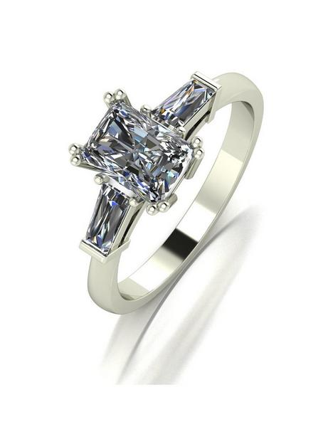 moissanite-moissanite-9ct-white-gold-170ct-eq-radiant-cut-solitaire-ring-with-tapered-baguette-shoulders