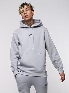 criminal-damage-eco-pullover-hoodie-light-grey