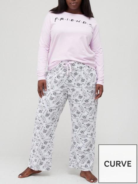 v-by-very-curve-friends-long-sleevenbspt-shirt-amp-trouser-pjnbspset-lilac