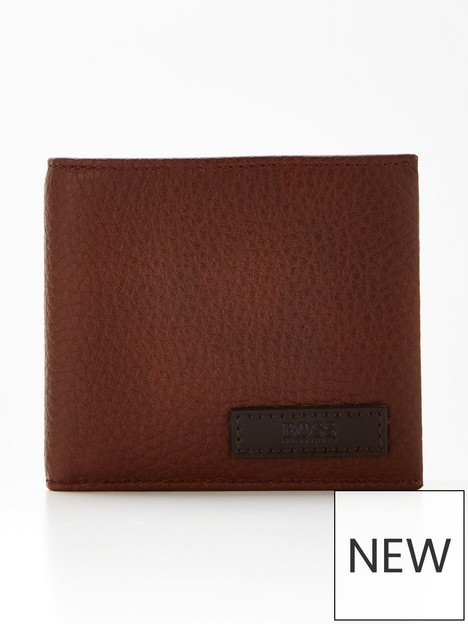 boss-trucker-leather-wallet-with-coin-pocket-brownnbsp